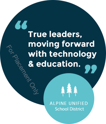 True leaders, moving forward with technology and education.